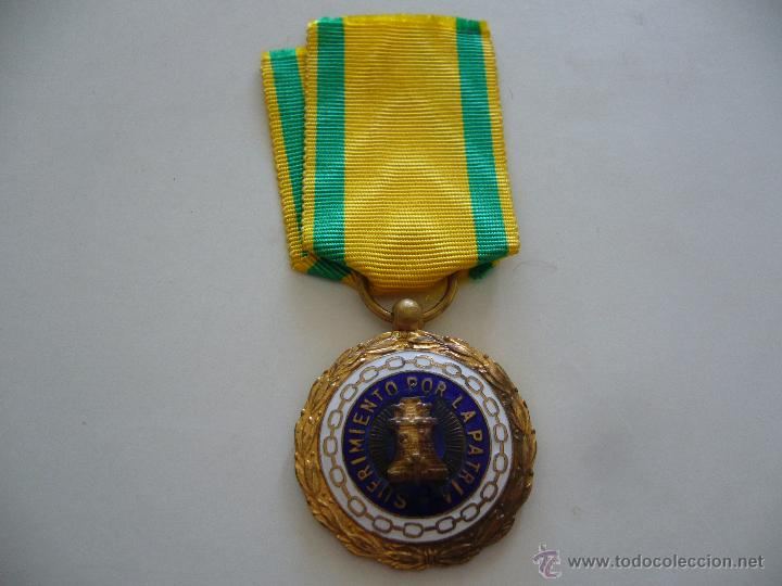 Militaria: Medalla sufrimiento por la patria - Foto 4 - 50312667