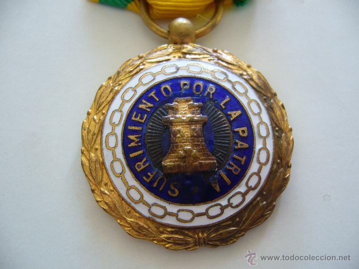 MEDALLA SUFRIMIENTO POR LA PATRIA (Militar - Medallas Españolas Originales )