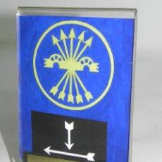 Militaria: FET DE LAS JONS, ORGANIZACIONES JUVENILES, INSTRUCTOR JEFE DE CADETES EN ZARAGOZA, MIDE 14,5 CMS, SE. Lote 50506078