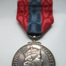 Militaria: MEDALLA BRITÁNICA EN SU ESTUCHE ORIGINAL. IMPERIAL SERVICE. ISABEL II.. Lote 50616924
