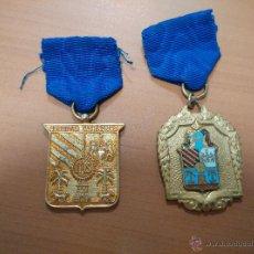 Militaria: 2MEDALLA DE JESUITAS LAS PALMAS DIFERENTES. Lote 50865218