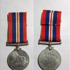 Militaria: MEDALLA BRITÁNICA 2ª GUERRA MUNDIAL 1939-1945. Lote 50987217