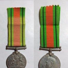 Militaria: MEDALLA BRITÁNICA DE LA DEFENSA, 2ª GUERRA MUNDIAL 2WW 1939-1945. Lote 50987273