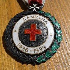 Militaria: MEDALLA CRUZ ROJA.CAMPAÑA 1936-1939.GUERRA CIVIL ESPAÑOLA.PASADOR RETAGUARDIA. Lote 51173527