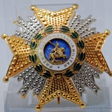Militaria: PLACA GRAN CRUZ ORDEN SAN HERMENEGILDO PREMIO CONSTANCIA MILITAR. Lote 104965434