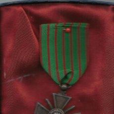 Militaria: CRUZ DE GUERRA FRANCIA 1914- 18. Lote 52929825