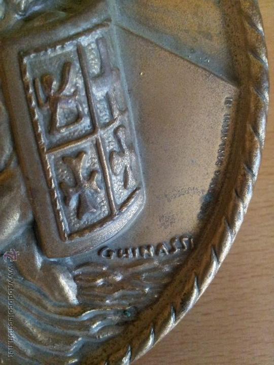 Militaria: autentica placa de metopa destructor armada italiana ardito d550..nihil obest años 60,,con marcajes - Foto 8 - 51696759