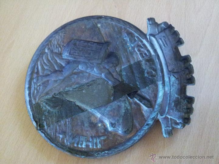 Militaria: autentica placa de metopa destructor armada italiana ardito d550..nihil obest años 60,,con marcajes - Foto 9 - 51696759