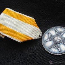 Militaria: MEDALLA DE PLATA (1907-1931) ORDEN DE ISABEL LA CATÓLICA ¿FABRICACIÓN FRANCESA?. Lote 52013399