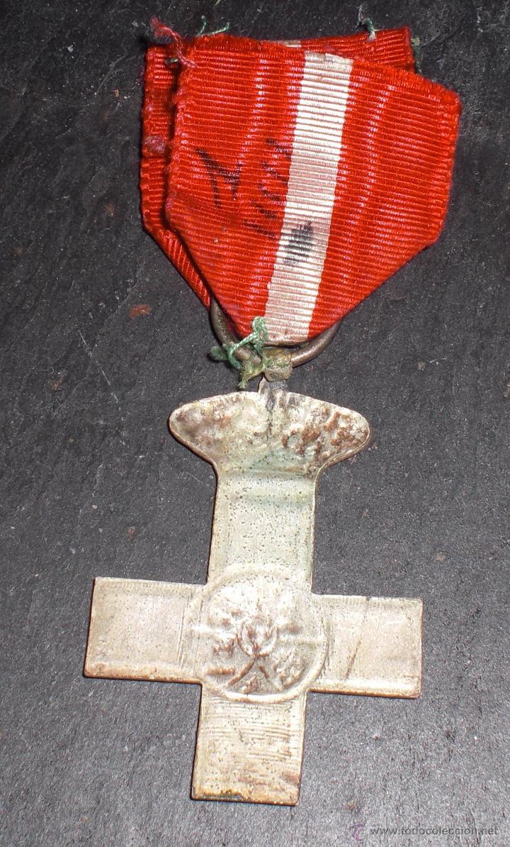 Militaria: Medalla guerra marruecos merito en plata,Division Azul.LEER DESCRIPCION: - Foto 2 - 52313916