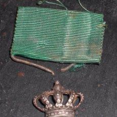 Militaria: MEDALLA GUERRA MARRUECOS EN PLATA,DIVISION AZUL.LEER DESCRIPCION:. Lote 52313957