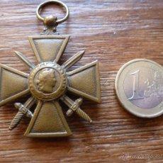 Militaria: CRUZ GUERRA 1º GUERRA MUNDIAL FRANCIA. Lote 52322070