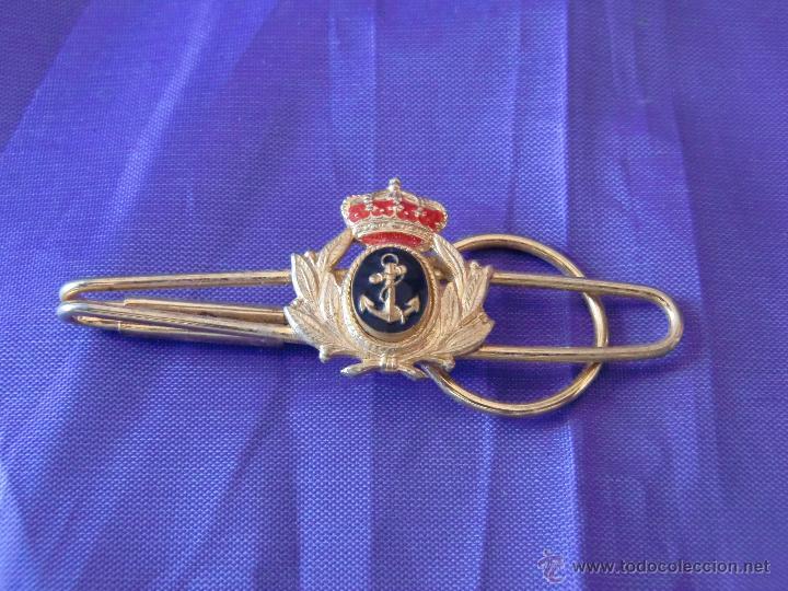 PASADOR DE LA MARINA ESPAÑOLA DEL AÑO 1900. (Militar - Cintas de Medallas y Pasadores)