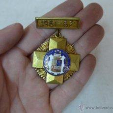 Militaria: ANTIGUA MEDALLA COLEGIO LA SALLE BONANOVA. 1961 -62, ESCUELA. CATALUNYA. Lote 52577445