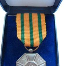Militaria: LUXEMBURGO: ORDEN DE LA CORONA DE ROBLE, MEDALLA CATEGORÍA DE BRONCE CON SU ESTUCHE.. Lote 52614323