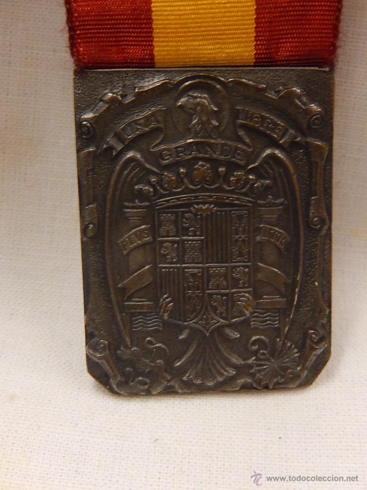 Militaria: Medalla Damas Auxiliares Sanidad Militar, con pasador Constancia. Época de Franco. - Foto 5 - 52750824