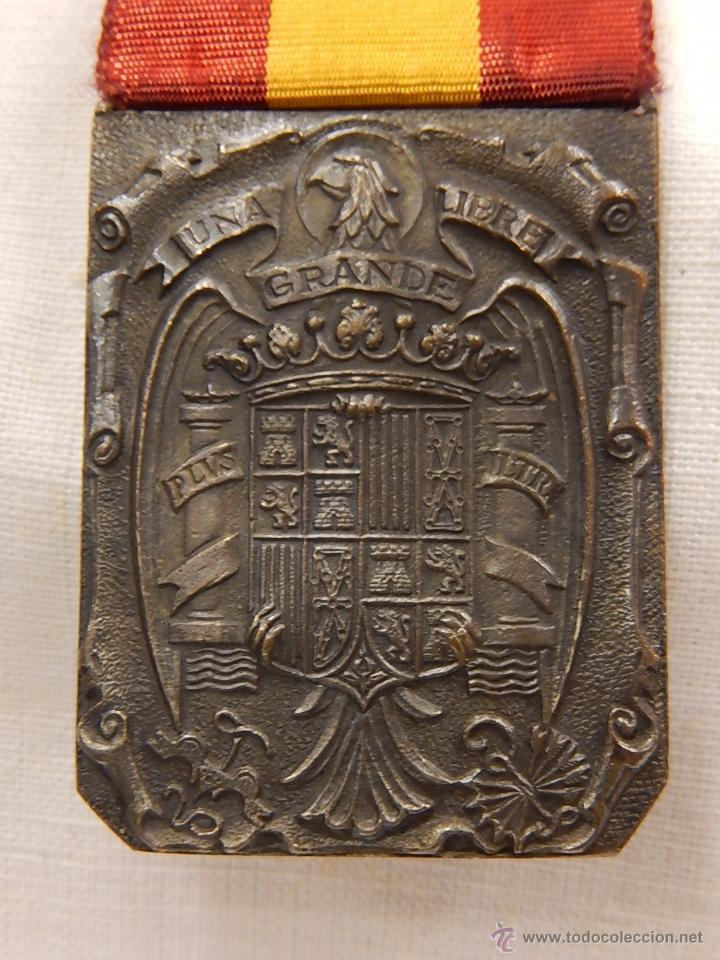Militaria: Medalla Damas Auxiliares Sanidad Militar, con pasador Constancia. Época de Franco. - Foto 6 - 52750824