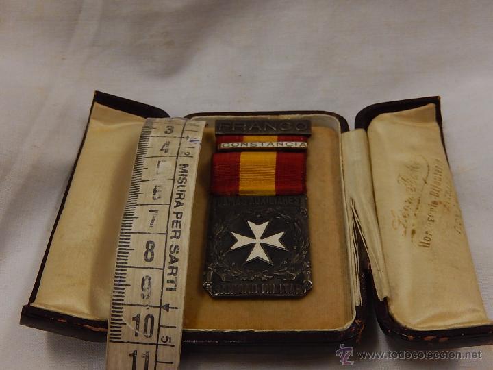 Militaria: Medalla Damas Auxiliares Sanidad Militar, con pasador Constancia. Época de Franco. - Foto 10 - 52750824