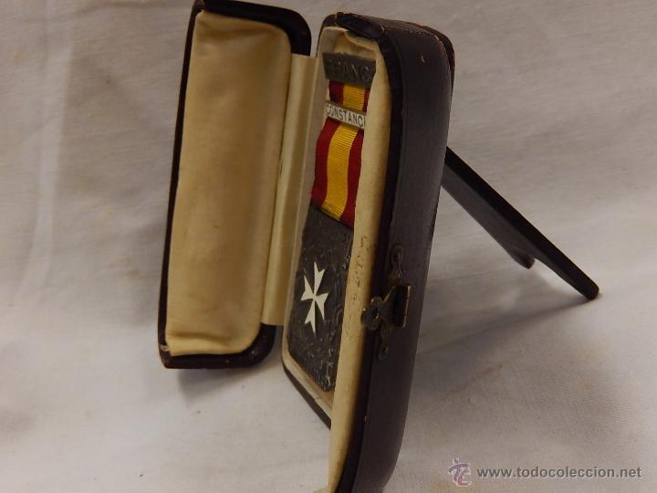Militaria: Medalla Damas Auxiliares Sanidad Militar, con pasador Constancia. Época de Franco. - Foto 11 - 52750824
