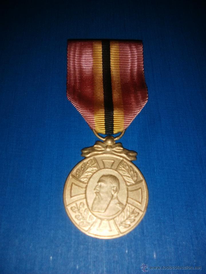 MEDALLA LEOPOLDO I BELGICA (Militar - Medallas Internacionales Originales)
