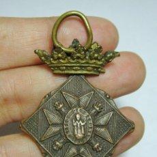 Militaria: MEDALLA CENTENARIO DEL SITIO DE GERONA. 1809 - 1909. GUERRA DE INDEPENDENCIA. CATEGORÍA BRONCE.. Lote 52859117