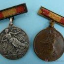 Militaria: MEDALLA ALZAMIENTO Y VICTORIA EN PLATA Y BRONCE - MEDALLAS. Lote 52905279
