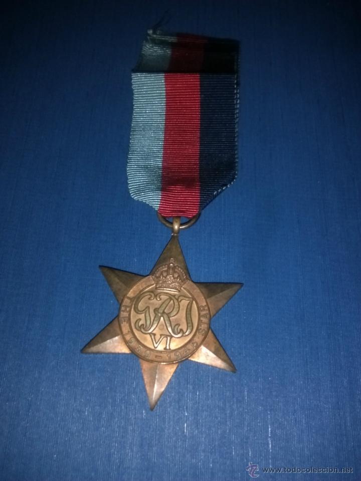 ESTRELLA CAMPAÑA 1939-1945 (Militar - Medallas Extranjeras Originales)