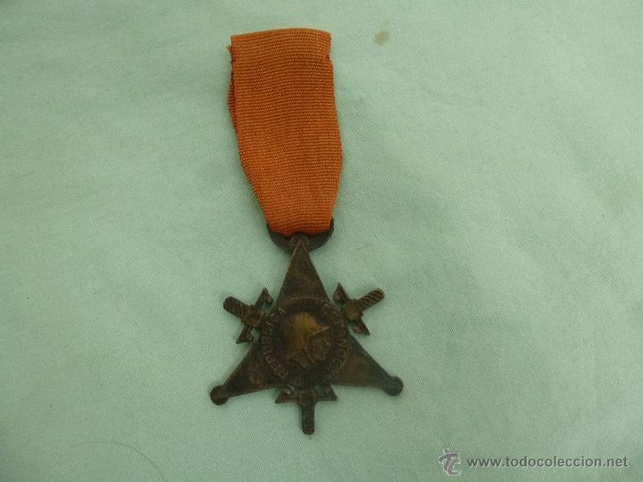 BIGADAS INTERNACIONALES..MEDALLA EN BRONCE..ORIGINAL.REPUBLICA..GUERRA CIVIL... (Militar - Medallas Españolas Originales )