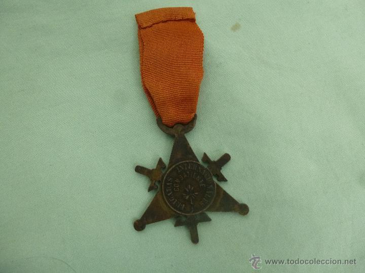 Militaria: Bigadas internacionales..medalla en bronce..original.republica..guerra civil... - Foto 2 - 53097205