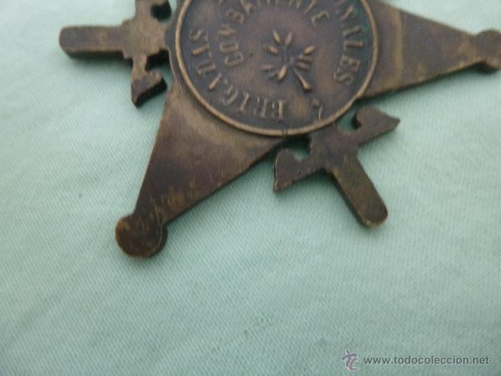 Militaria: Bigadas internacionales..medalla en bronce..original.republica..guerra civil... - Foto 3 - 53097205