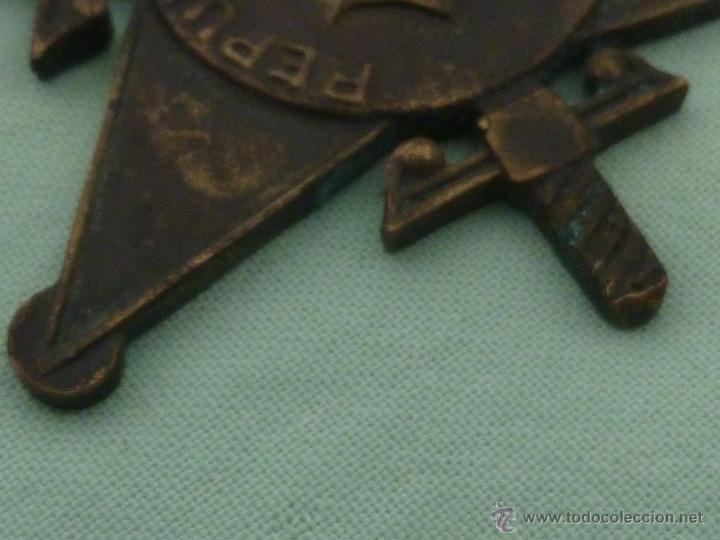 Militaria: Bigadas internacionales..medalla en bronce..original.republica..guerra civil... - Foto 4 - 53097205