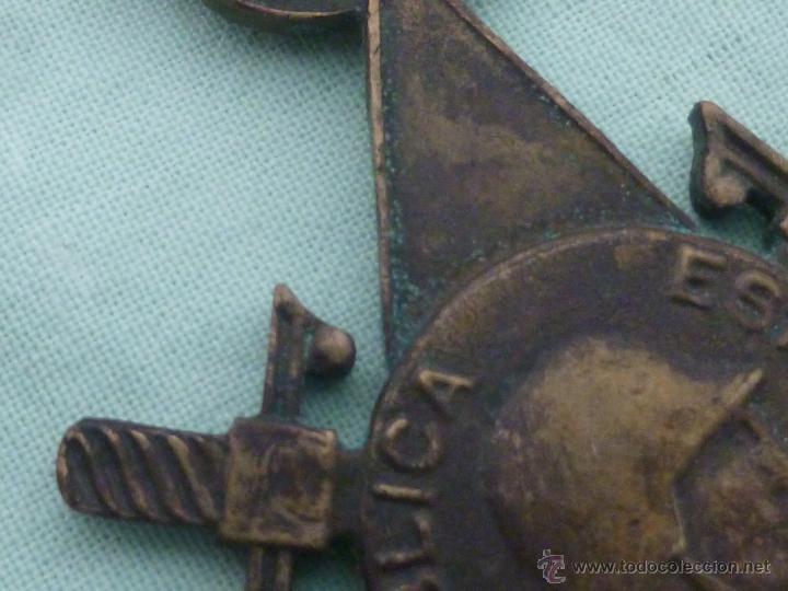 Militaria: Bigadas internacionales..medalla en bronce..original.republica..guerra civil... - Foto 5 - 53097205