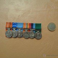 Militaria: PASADOR MEDALLAS MINIATURA.. Lote 53148527