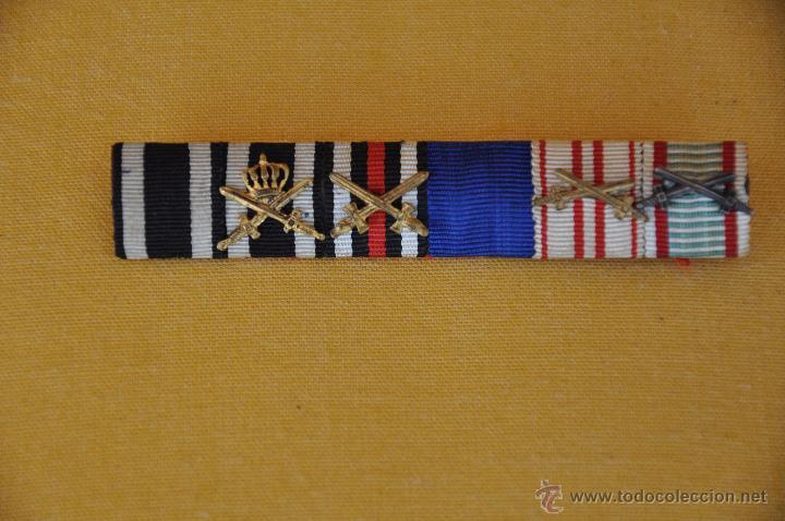 PASADOR DE DIARIO 1ª GUERRA MUNDIAL. (Militar - Cintas de Medallas y Pasadores)