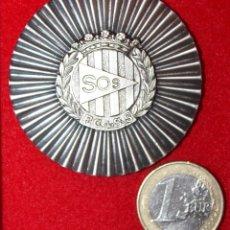 Militaria: MEDALLA FEDERACIÓN CATALANA SALVAMENTO Y SOCORRISMO III PENTHALON NACIONAL POLICIA ARMADA BCN. 1976 . Lote 53332962