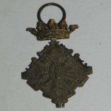 Militaria: MEDALLA DEL CENTENARIO DEL SITIO DE GERONA. 1809-1909. VERSIÓN PLATA.. Lote 53349293