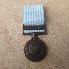 Militaria: MEDALLA DE COREA ONU REPLICA. Lote 53353876