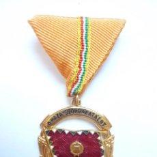 Militaria: HUNGRÍA: MEDALLA AL MÉRITO MILITAR AL SERVICIO DEL PAÍS. PRIMERA CLASE (CATEGORÍA DE ORO). Lote 53418409