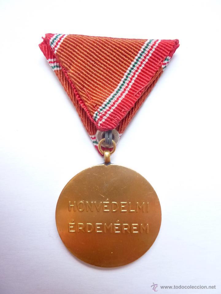 Militaria: Hungría: Medalla al Servicio en las Fuerzas Armadas (15 años) - Constancia Militar - Foto 2 - 53433010
