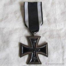 Militaria: MEDALLA CRUZ DE HIERRO ALEMANIA 1813-1914. REPRODUCCIÓN. Lote 53565791