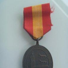 Militaria: GUERRA CARLISTA : MEDALLA DEFENSORES DE BILBAO . TAMAÑO GRANDE. Lote 53573476