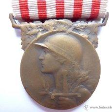 Militaria: FRANCIA: MEDALLA CONMEMORATIVA DE LA PRIMERA GUERRA MUNDIAL 1914 - 1918. Lote 96714167