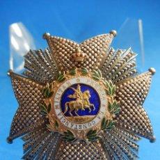Militaria: REAL Y MILITAR ORDEN DE SAN HERMENEGILDO. PLACA DE LA GRAN CRUZ. AÑOS 1910 / 1920. CASTELLS. BARCELO. Lote 53780910