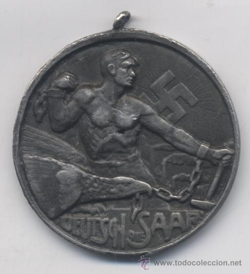 MEDALLA ALEMANA-LIBERACION DE LA RAE-ALEMANIA NAZI (Militar - Medallas Internacionales Originales)