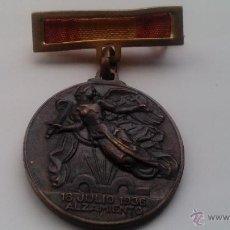 Militaria: MEDALLA ALZAMIENTO Y VICTORIA. ESPAÑA. EJÉRCITO NACIONAL. 1936-1939. GUERRA CIVIL ESPAÑOLA. Lote 53871084