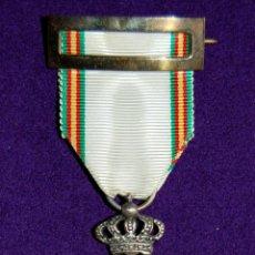 Militaria: CONDECORACION ORIGINAL DE LA PAZ DE MARRUECOS 1909-1927. CON CINTA Y PASADOR ORIGINAL. MEDALLA.. Lote 53976994