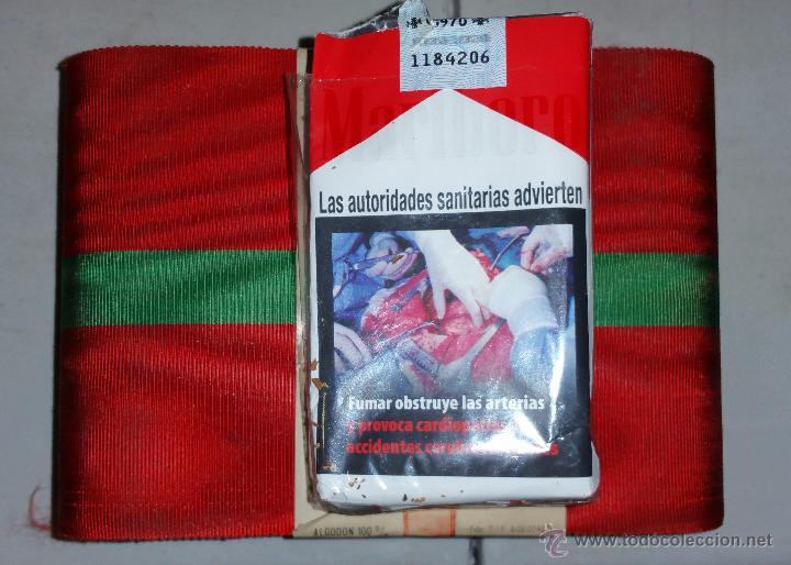 Militaria: banda para gran cruz ,cintas parece la de amadeo de saboya,corte de 1,70 - Foto 3 - 54009622