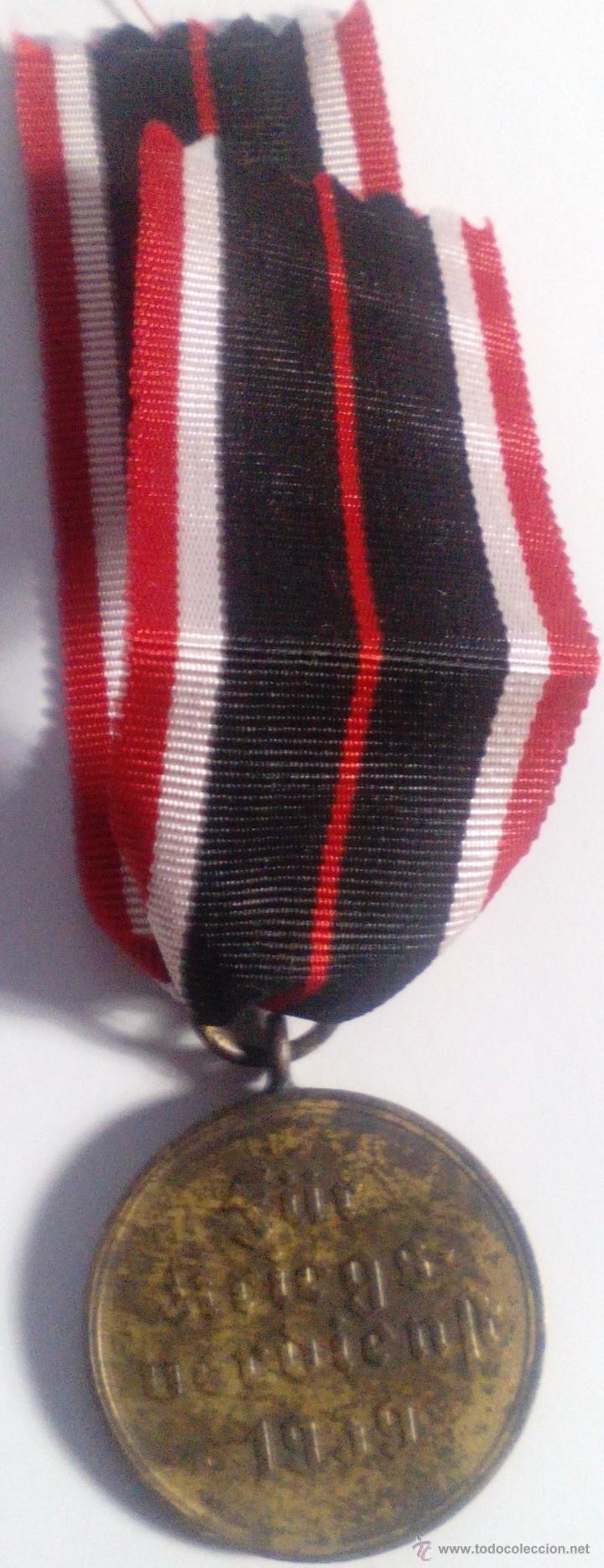 Militaria: Medalla de la Cruz al Mérito de Guerra. Alemania. 1940-1945. 2ª Guerra Mundial. ORIGINAL - Foto 2 - 54139777