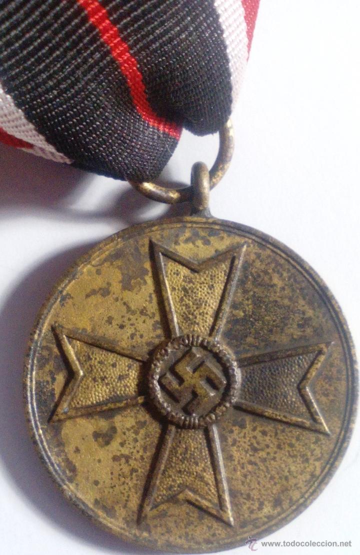 Militaria: Medalla de la Cruz al Mérito de Guerra. Alemania. 1940-1945. 2ª Guerra Mundial. ORIGINAL - Foto 3 - 54139777