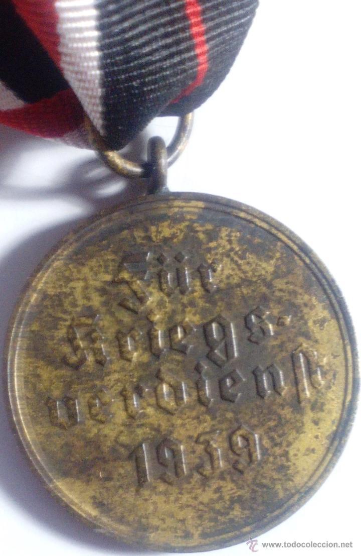 Militaria: Medalla de la Cruz al Mérito de Guerra. Alemania. 1940-1945. 2ª Guerra Mundial. ORIGINAL - Foto 4 - 54139777